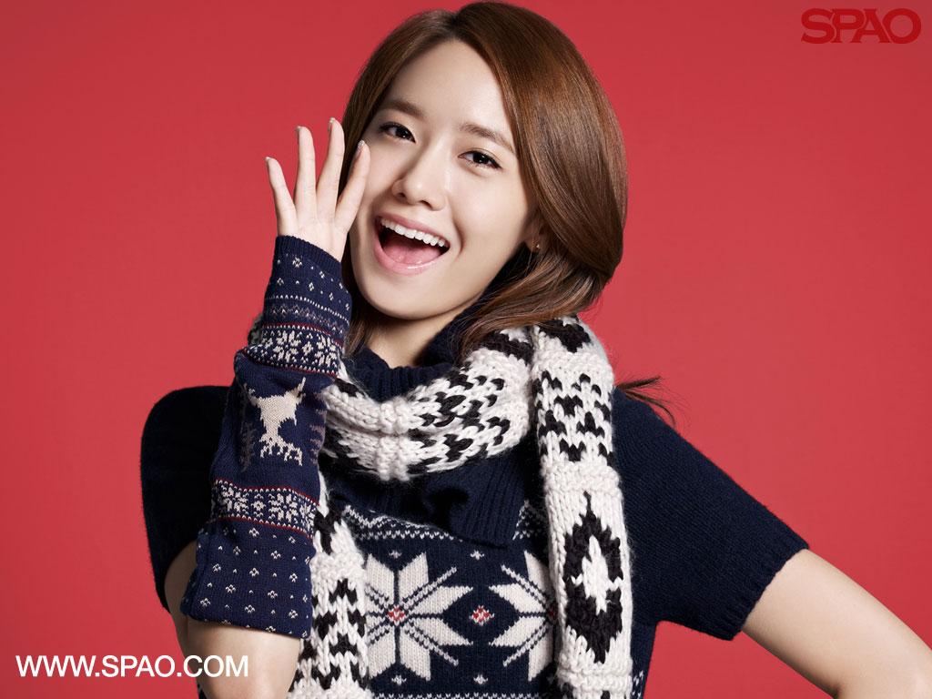 SNSD Yoona SPAO wallpaper
