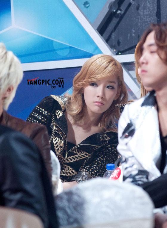 Taeyeon focus @ SBS Gayo Daejun 2011