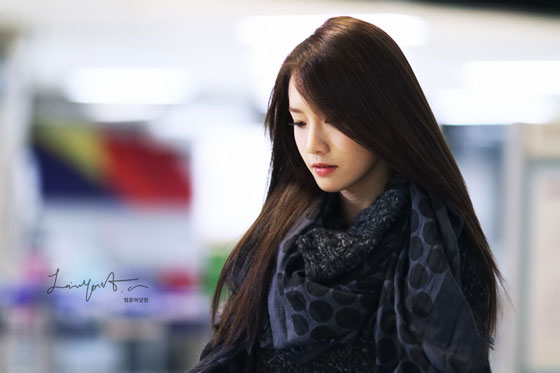 SNSD Yoona Gimpo Airport