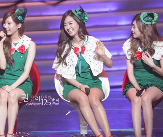 SNSD Yuri MBC Christmas Special