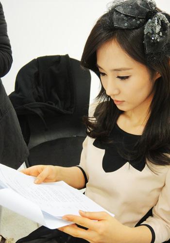 SNSD Yuri MBC Music Core last show