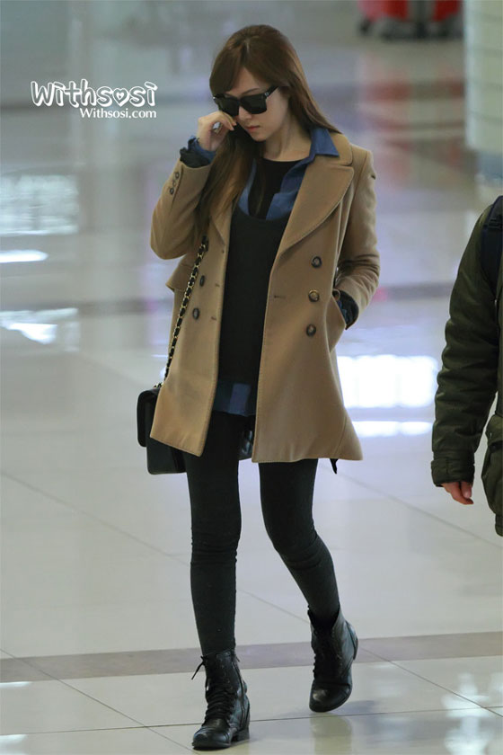SNSD Jessica Gimpo Airport