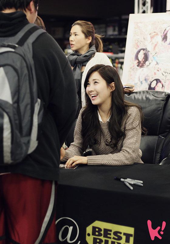 SNSD Seohyun 2012 New York fan meet