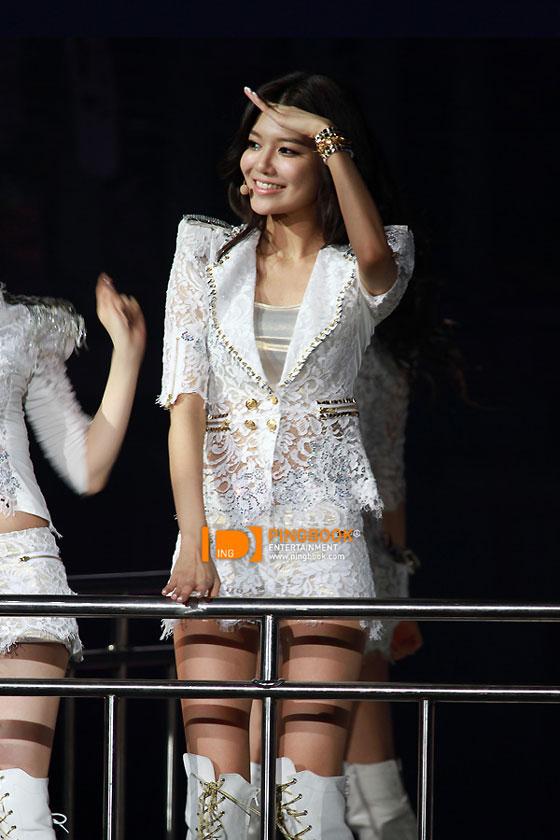 SNSD Sooyoung Bangkok 2012 de concertos