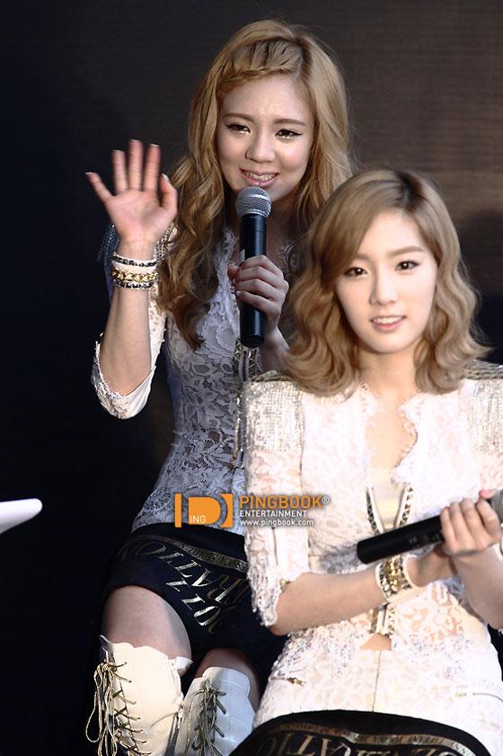 SNSD Yuri Bangkok Tour press conference