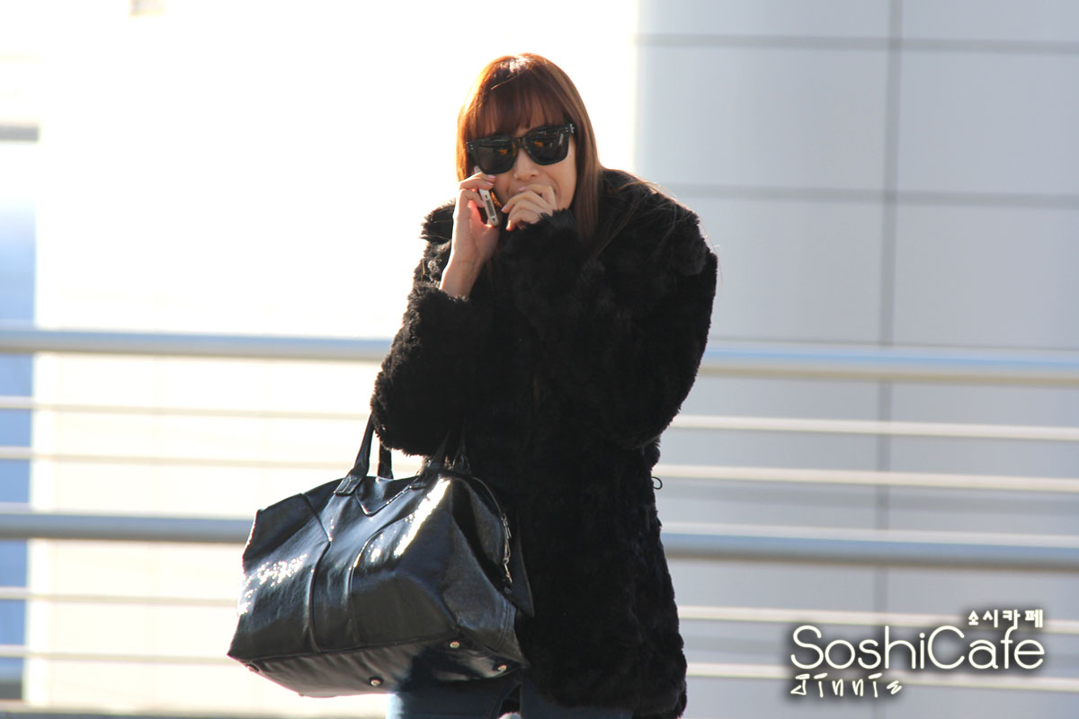 SNSD Jessica Incheon Airport to New York