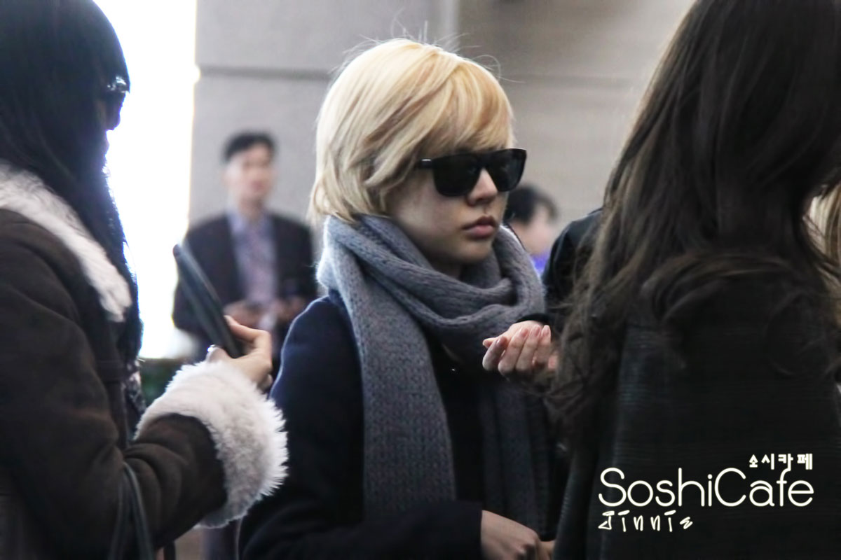 SNSD Sunny Incheon Airport to New York