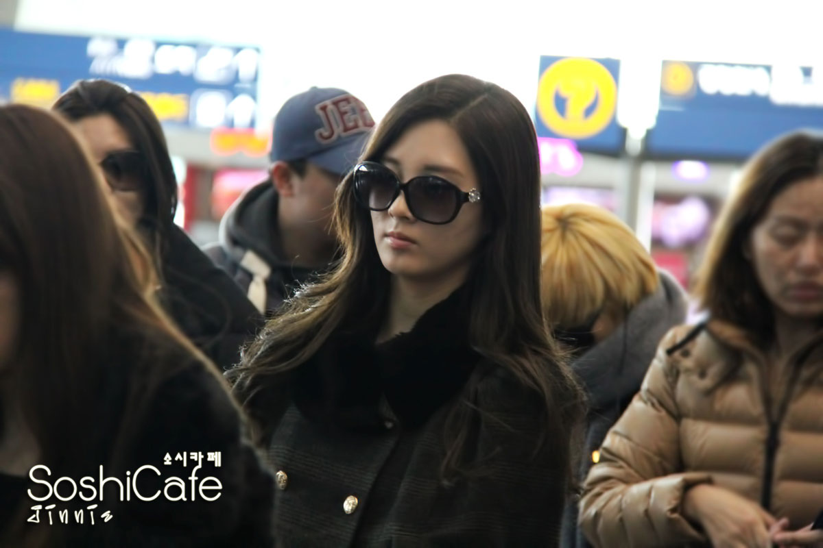 SNSD Seohyun Incheon Airport to New York