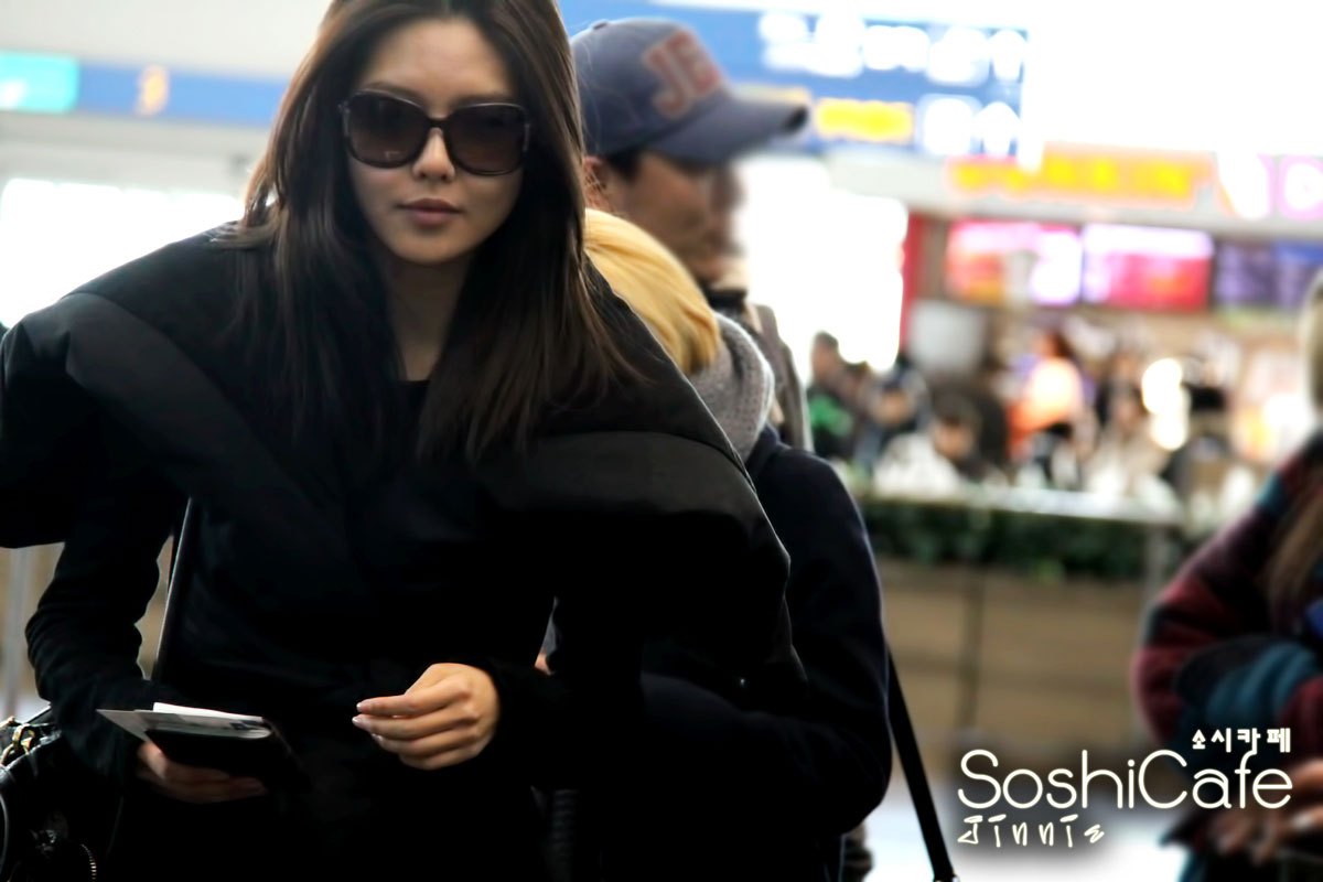 SNSD Sooyoung Incheon Airport to New York
