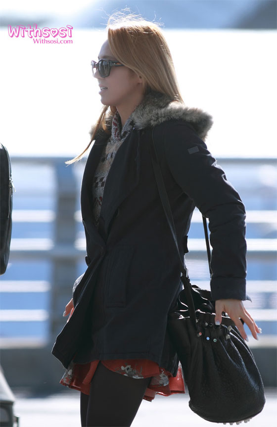 SNSD Hyoyeon Korean Incheon Airport