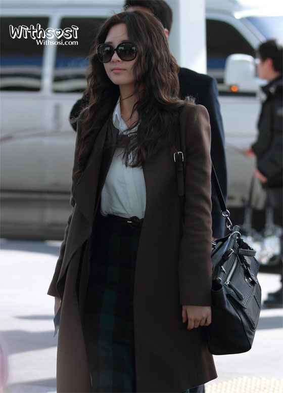 SNSD Seohyun Korean Incheon Airport