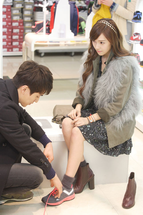 SNSD Jessica and Lee Dong-wook Wild Romance
