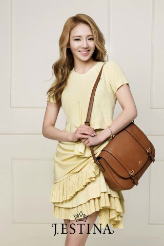 SNSD Hyoyeon Jestina 2012 SS handbag