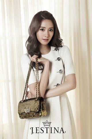 SNSD Yoona Jestina 2012 SS handbag