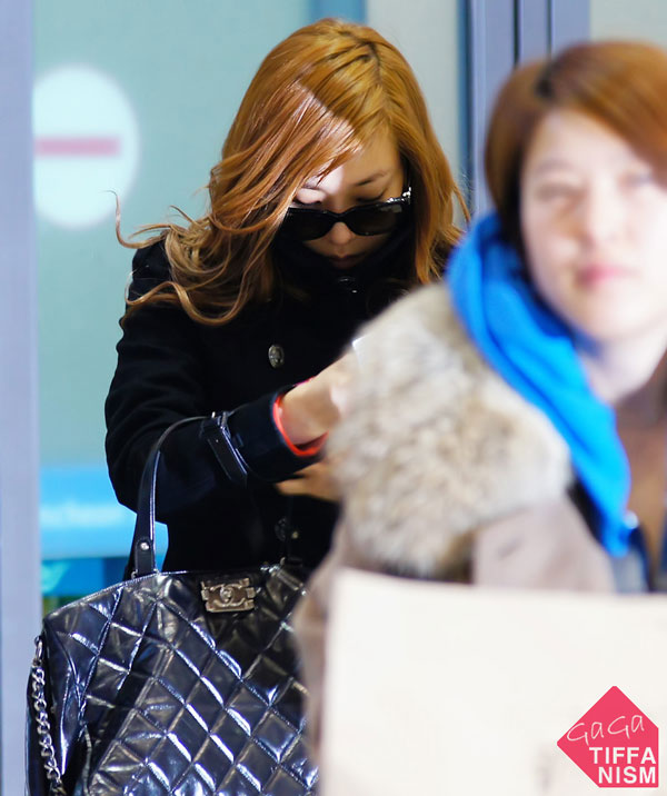 SNSD Tiffany Korean Airport