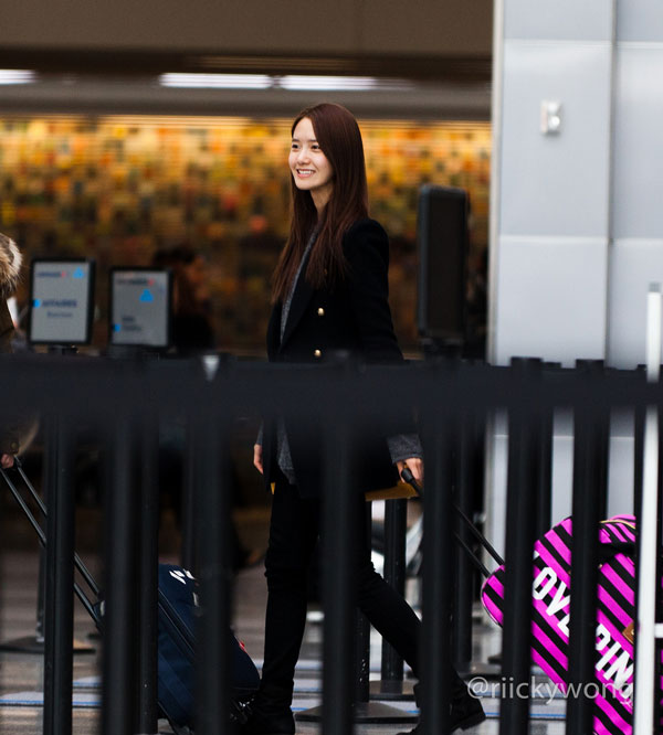 SNSD Yoona San Francisco Airport