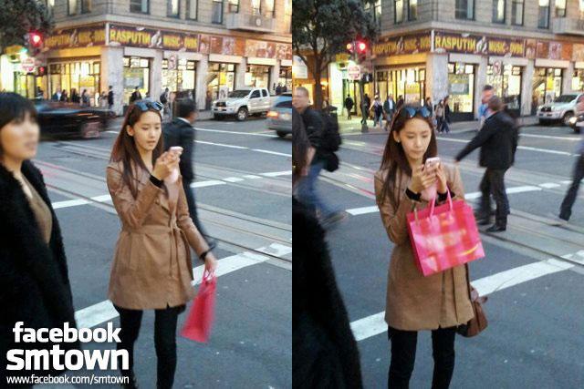 Yoona visits San Francisco