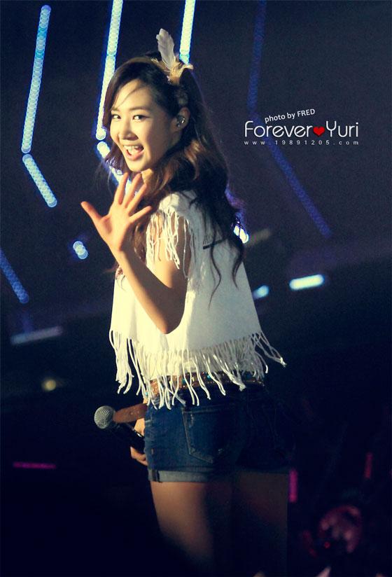SNSD Yuri Bangkok concert