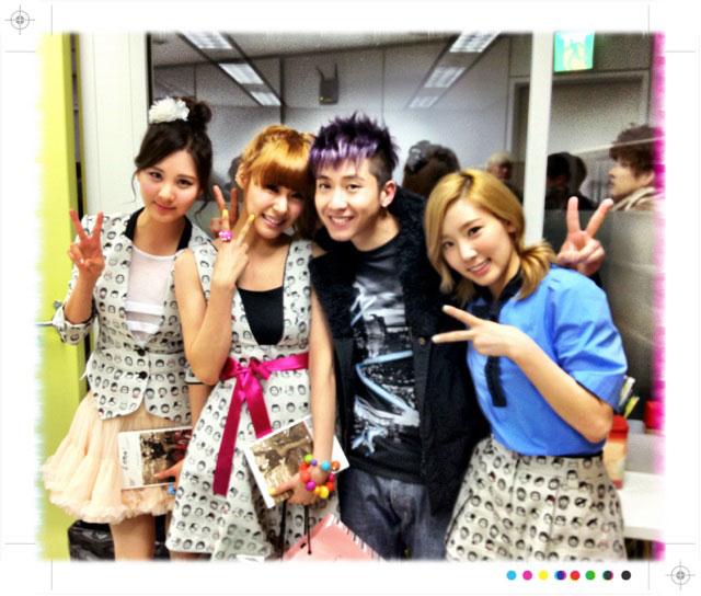 Brian Joo and Girls Generation