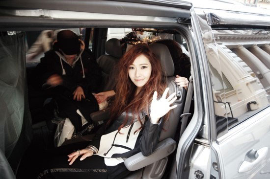 SNSD Jessica Coming Step BTS
