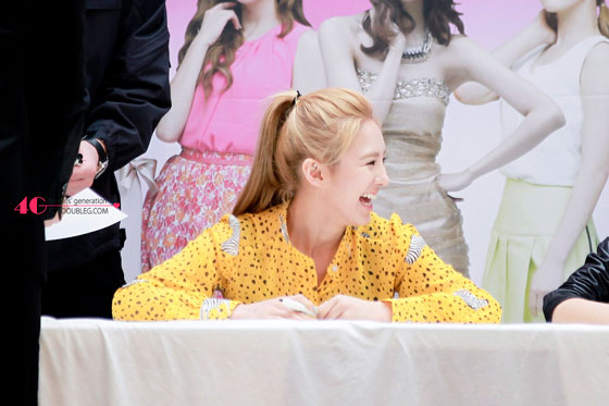 Hyoyeon Lotte Department Store event