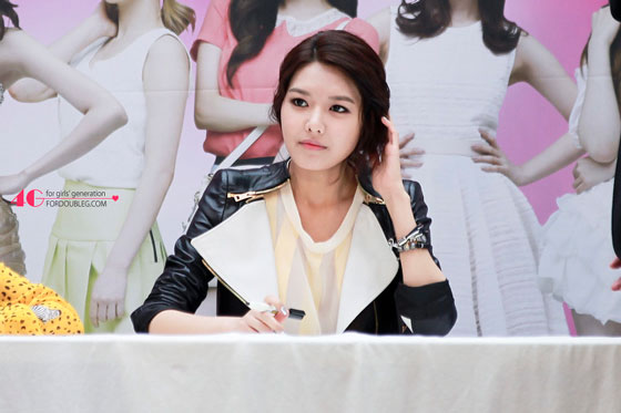 Sooyoung Lotte Department Store event