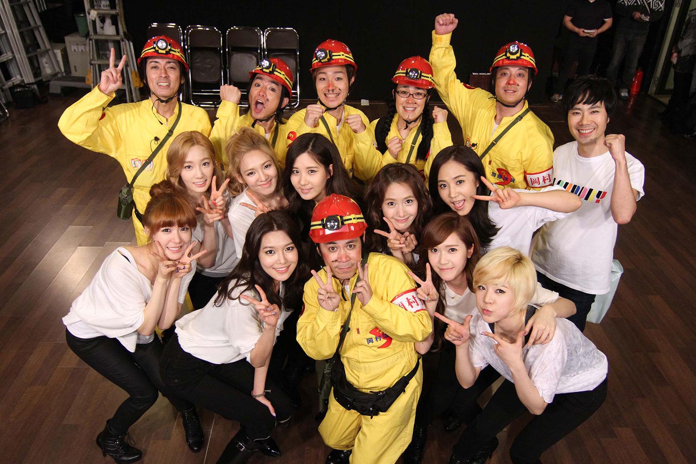 SNSD Mecha Mecha Iketeru Japanese variety show