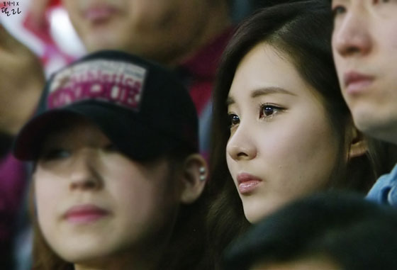 SNSD Seohyun basketball game