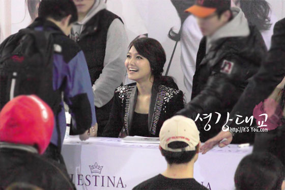 SNSD Sooyoung Jestina fansigning