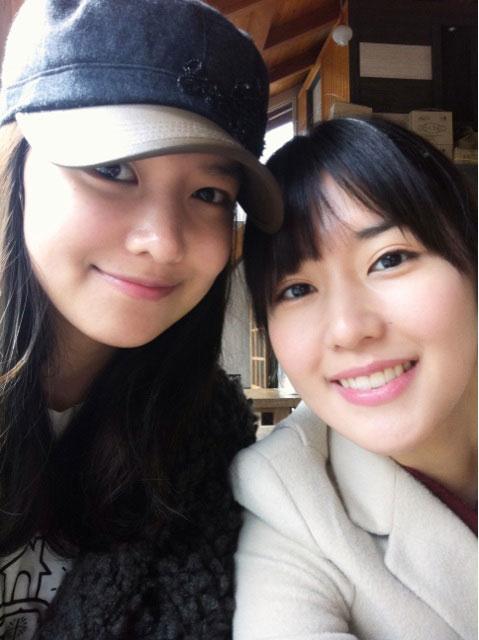 SNSD Sooyoung and sister Sujin selca