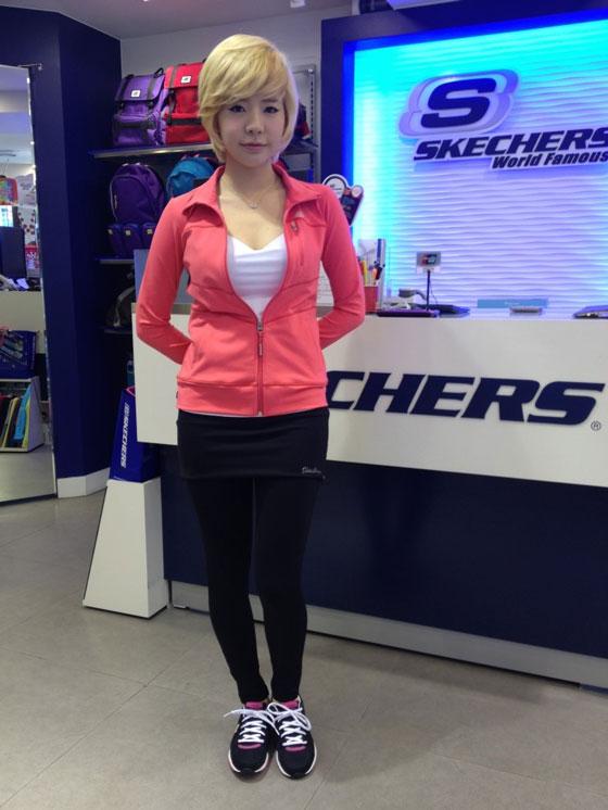SNSD Sunny Skechers sportswear