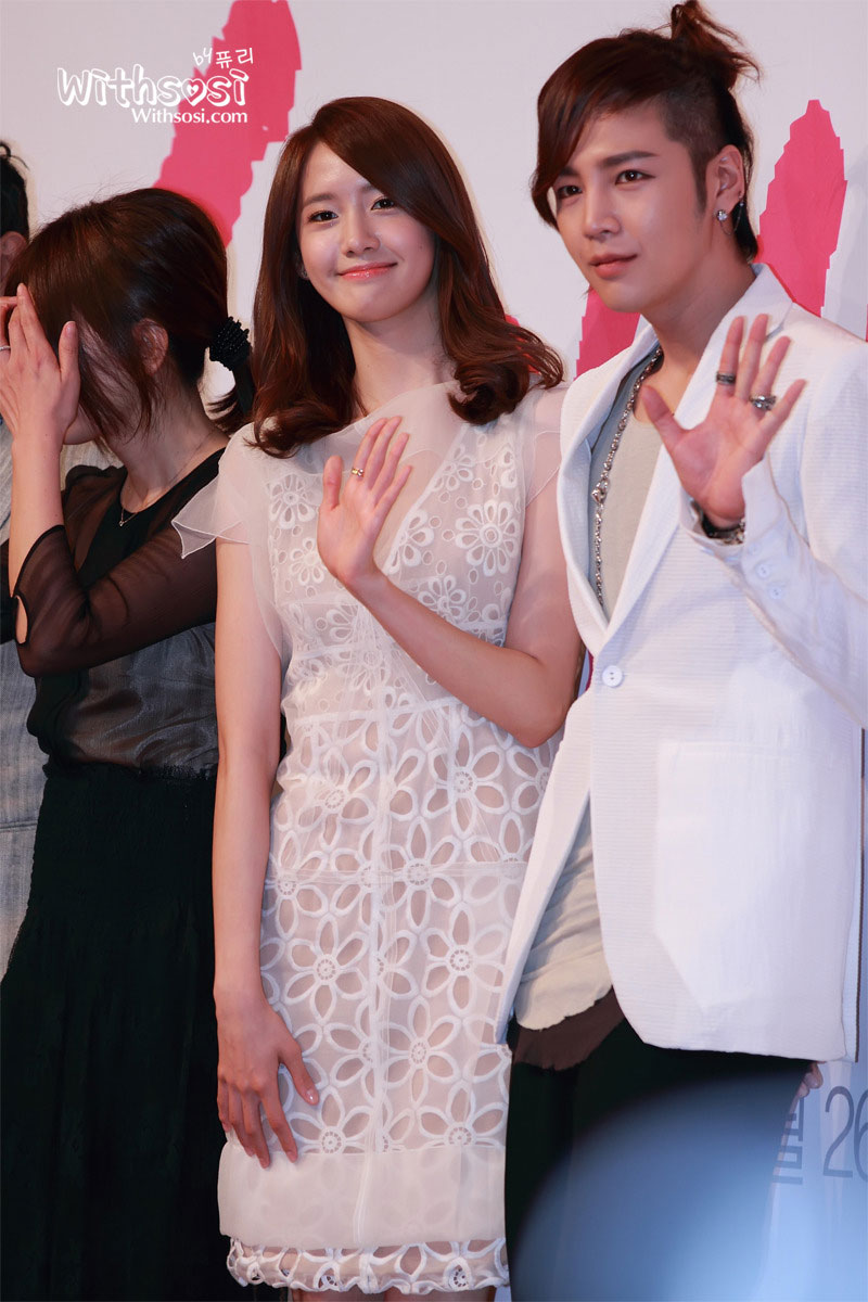 SNSD Yoona Love Rain press conference