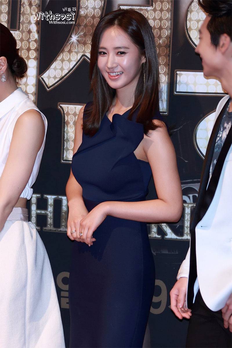 SNSD Yuri Fashion King press conference
