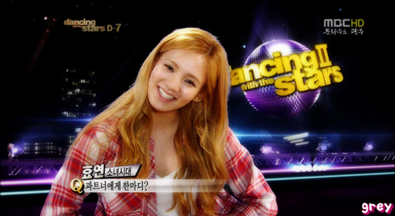 SNSD Hyoyeon MBC Dancing with Stars