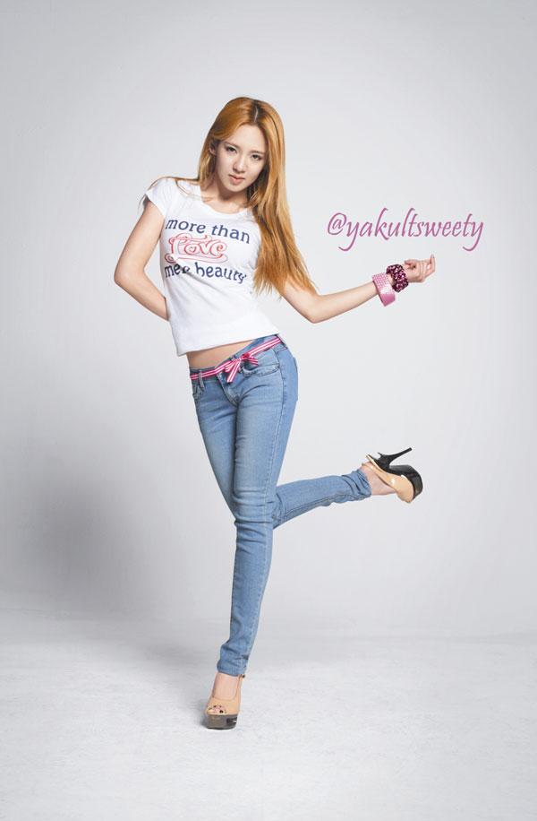 Yakult Look endorsement photos