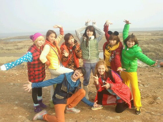 SNSD Invincible Youth and Kim Shin-young