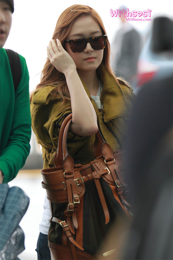 SNSD Jessica airport picture