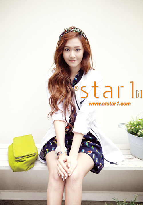 SNSD Jessica Atstar1 Magazine