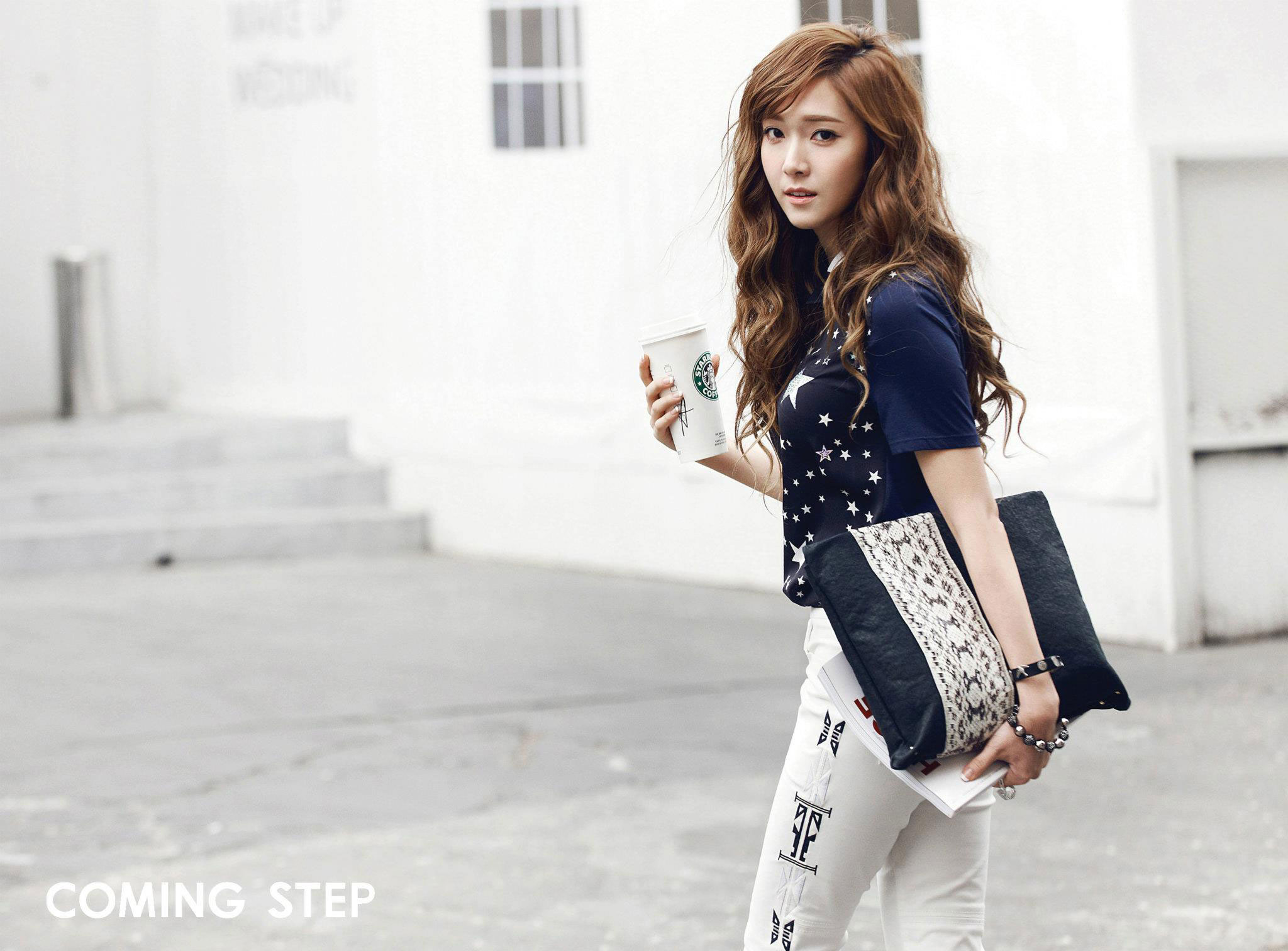 SNSD Jessica Coming Step wallpaper