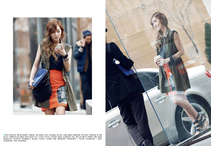 SNSD Jessica Coming Step photo book