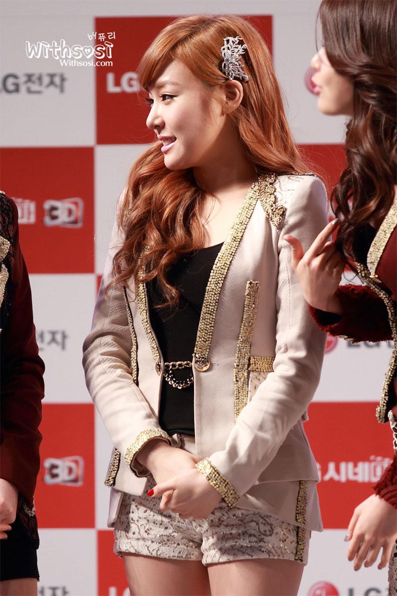SNSD Tiffany LG Cinema Concert