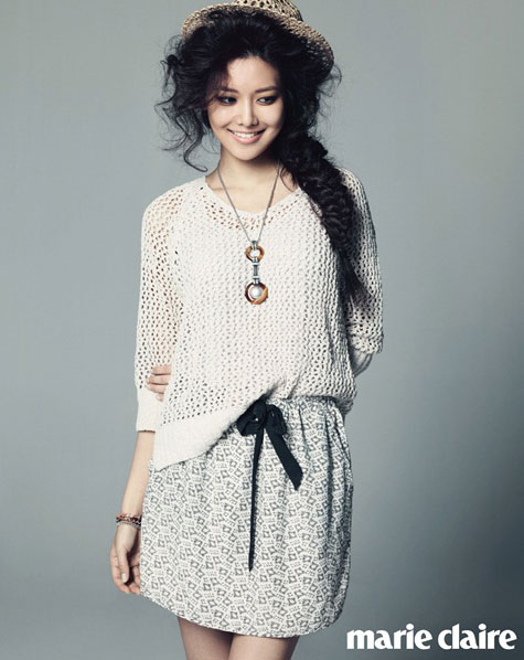 SNSD Sooyoung Marie Claire Magazine