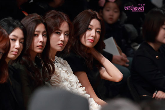 SNSD Sooyoung Seoul Fashion Week