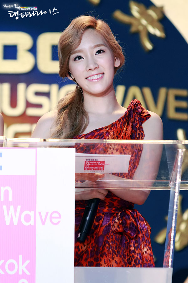 SNSD Taeyeon Korean Music Wave in Bangkok
