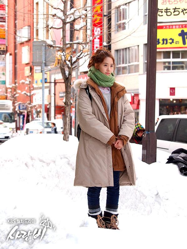 SNSD Yoona Love Rain Hokkaido