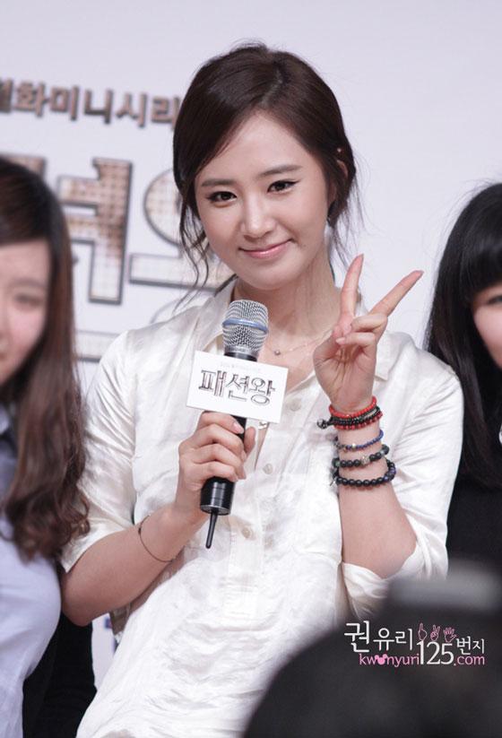SNSD Yuri Fashion King event