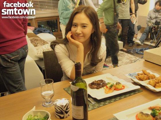 SNSD Yuri Fashion King Facebook