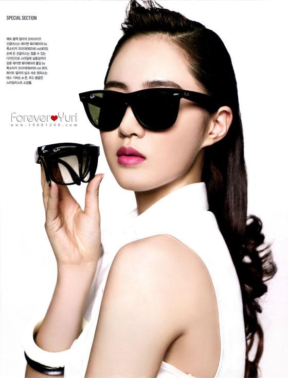 SNSD Yuri Instyle Rayban sunglasses