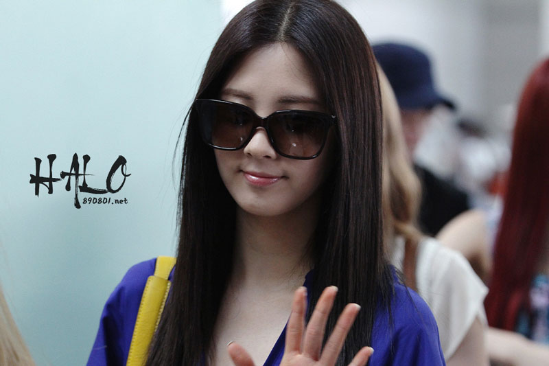 SNSD Seohyun Incheon Airport to Los Angeles