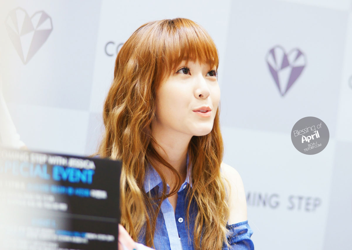 SNSD Jessica Coming Step Elle fan signing